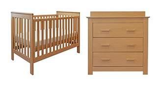 East Coast Nursery East Coast Blickling Oak Cotbed and Dresser