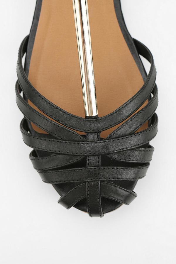 Urban Outfitters DV By Dolce Vita Metal T-Strap Sandal