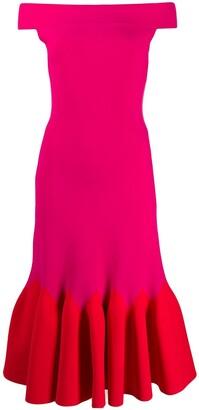 Alexander McQueen mid-length evening dress