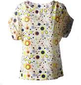 Bestgift Womens Fashion Short Sleeve Print Blouse Top 19 Colors M