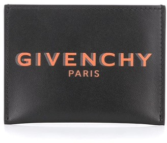 Givenchy Logo Print Cardholder