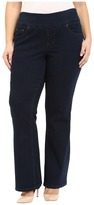 Jag Jeans Plus Size Paley Boot in After Midnight Comfort Denim