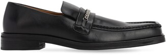 Martine Rose 35MM LEATHER LOAFERS W/ SQUARE TOE