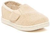 Toms Avalon Natural Burlap Slip-On Sneaker (Baby, Toddler, & Little Kid)