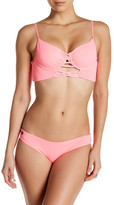 Maaji Flamingo Shortcut Signature Cut Reversible Bikini Bottom