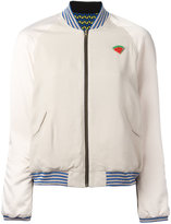 Bellerose watermelon patch bomber jacket