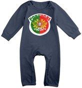 TLK Baby Onesie TLK Babys Football Final Portugal Long Sleeve Bodysuit