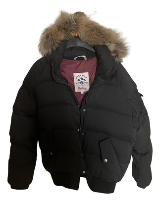 Pyrenex Black Synthetic Coats