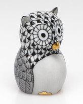 Herend The Professor Owl Figurine