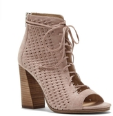 Vince Camuto Kevina – Woven Open-Toe Bootie