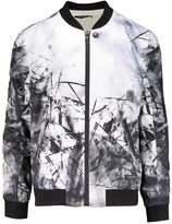 Religion Inertia Bomber Jacket White/black