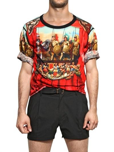 Dolce & Gabbana Sicilian String Puppet Print T-Shirt
