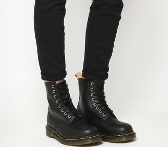 Dr. Martens Vegan 1460 8 Eye Boots Black