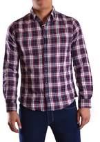 Sun 68 Men's Multicolor Cotton Shirt.