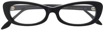 Cutler & Gross oval framed sunglasses