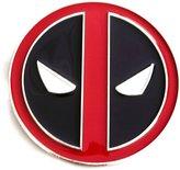 Senmi Deadpool Die Cast Silver Finish Enameled Belt Buckle