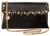 Stuart Weitzman Duo Leather Convertible Clutch