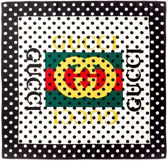Gucci Sylvie 1969 Mini Patent Top Handle Satchel