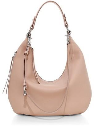 Rebecca Minkoff Michelle Leather Hobo Bag