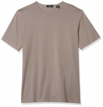Theory Men's Precise Silk Cotton Tee