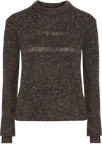 Rebecca Minkoff Durand merino wool-blend bouclé sweater
