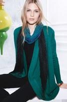 Eileen Fisher Merino Wool Jersey Cardigan (Plus Size)