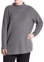 Eileen Fisher, Plus Size Merino Wool Turtleneck Sweater
