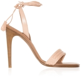 Bottega Veneta Intrecciato Ankle Tie High Heels