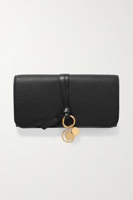 Chloé Alphabet Textured-leather Wallet