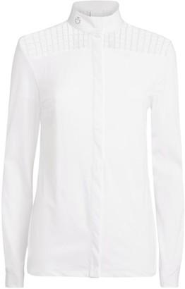 Cavalleria Toscana Lace-Detail Shirt