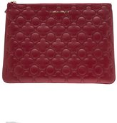 Comme des Garcons embossed flowers coin purse