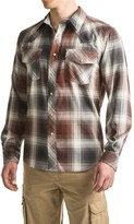 Smith's Workwear Western Plaid Shirt - Cotton-Rayon, Snap Front, Long Sleeve (For Men)