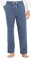 Daniel Cremieux Woven Checked Pajama Pants