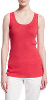 Magaschoni Scoop-Neck Ribbed Tank