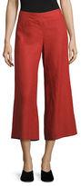 Eileen Fisher Organic Linen Wide Cropped Pants
