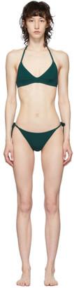 Lido Green Self-Tie Diciassette Bikini