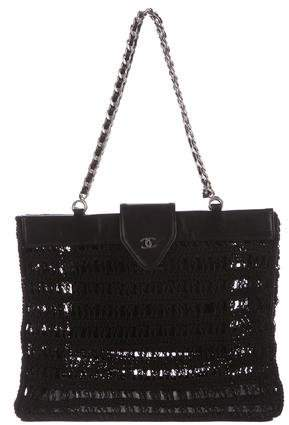1ab6675ea2ad Crochet Leather Bag - ShopStyle