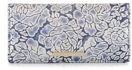 Brahmin Aquarius Melbourne Ady Printed Leather Wallet