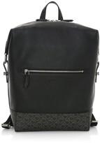Salvatore Ferragamo Dynamo Gancini Leather Backpack