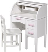Guidecraft Jr. Roll Top Desk - White