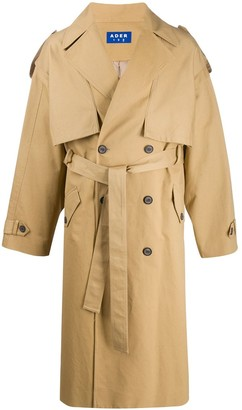 Ader Error High Fusion oversized trench coat