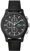 Lacoste Unisex Lacoste.12.12 Chronograph Black Watch