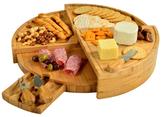 Picnic at Ascot Vienna Transforming Cheese Board Set (4 PC)