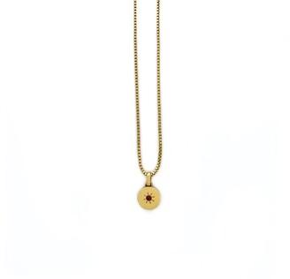 Giulia Birthstone Necklace - January