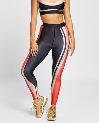 P.E Nation Women's Black Tights - Pace Change Leggings - Size XS at The Iconic