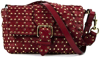 RED Valentino Shoulder Bag In Red Leather