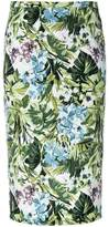 Pinko floral print pencil skirt