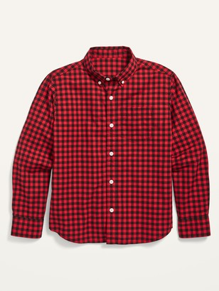 Old Navy Built-In Flex Poplin Pocket Shirt for Boys