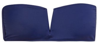 Talia Collins - The Strapless Bandeau Bikini Top - Navy