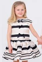 Halabaloo Stripe Organza Dress